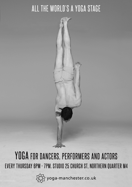 Yoga stage web poster