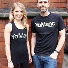 thumbnail image for Win a fabulous limited edition YoManc Yoga Manchester t-shirt / vest