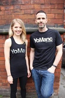YoManc T shirt Yoga Manchester