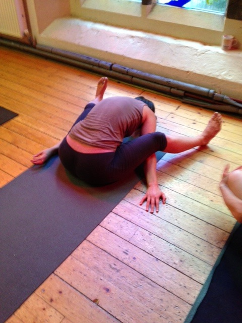 thumbnail image for A View from the Mat: Day two of the August Mysore-style Intensive
