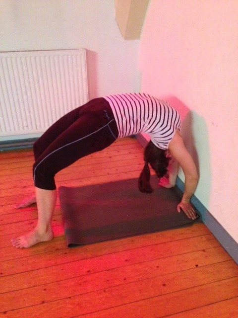 thumbnail image for A View from the Mat: Day three of the August Mysore-style Intensive