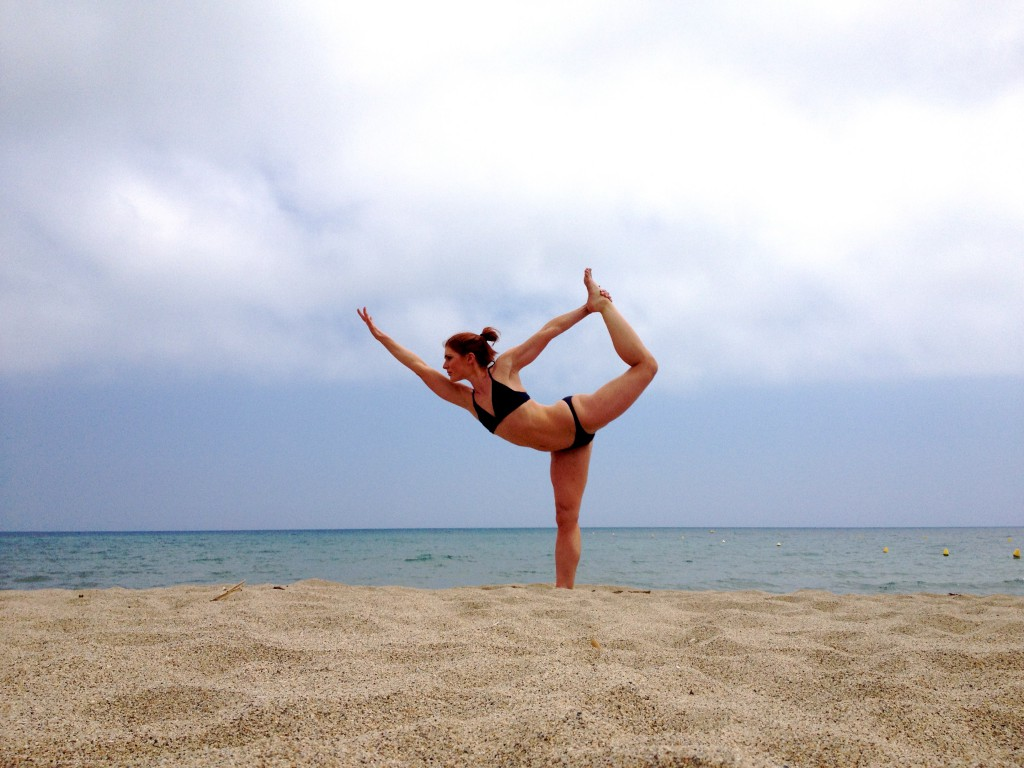 Tamara Jones on Lacanau beach, Leaucate, South of France 2013