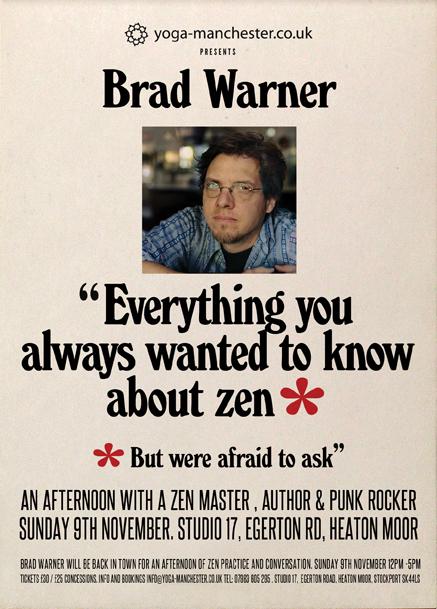 BRAD WARNER Woody Allen Manchester info