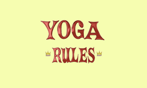 thumbnail image for Yoga Rules : A rough guide to the yamas and niyamas