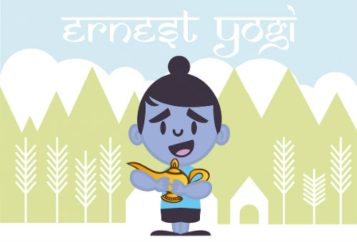 thumbnail image for The Magical tale of Ernest Yogi & the Magic Lamp by Matt Ryan