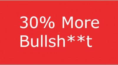 thumbnail image for 30% more Bullsh**t by Matt Ryan.