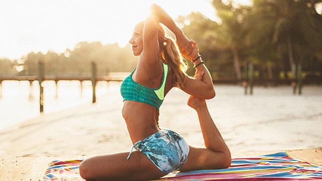 thumbnail image for Kerri Verna (A.K.A Beach Yoga Girl) One Day Yoga Workshop